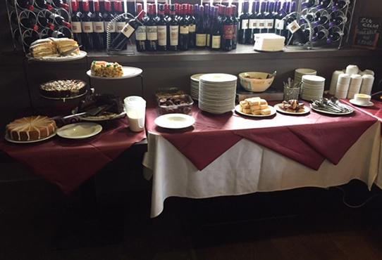 Indian buffet in Glasgow